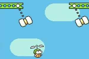 Flappy Bird successor Swing Copters launched