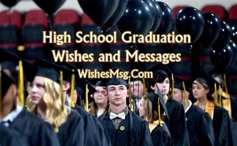 High School Graduation Wishes, Messages and Quotes   WishesMsg