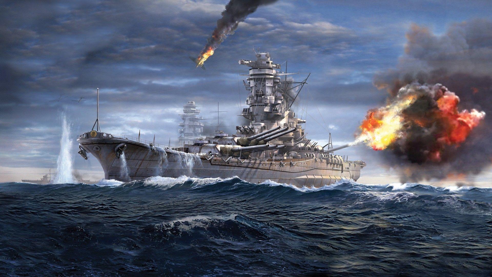 World Of Warships Yamato Wallpaper 82 Images
