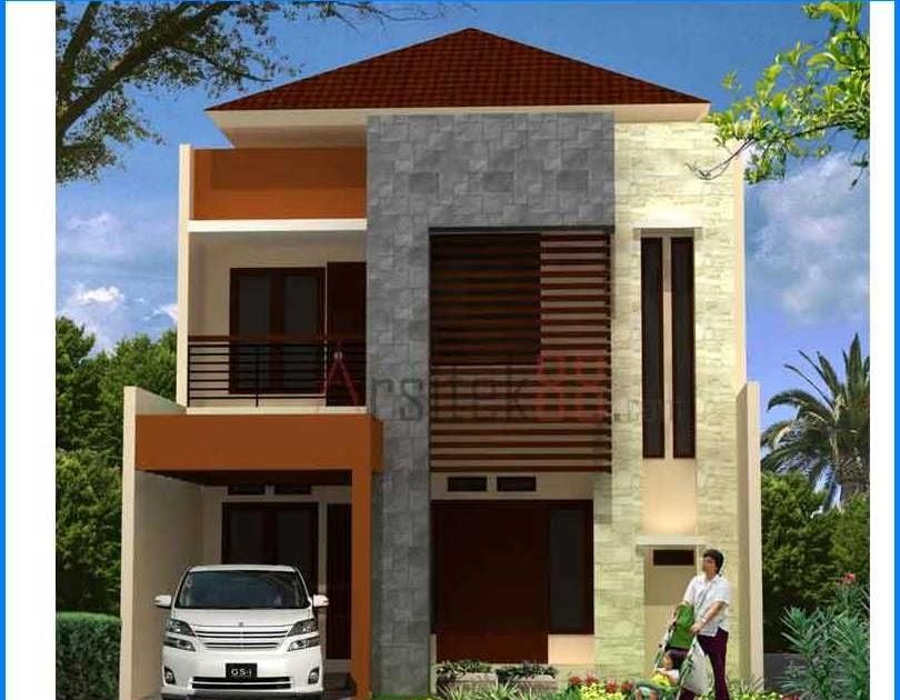 58 Desain Rumah 2 Lantai Minimalis Sederhana Type 36 ...