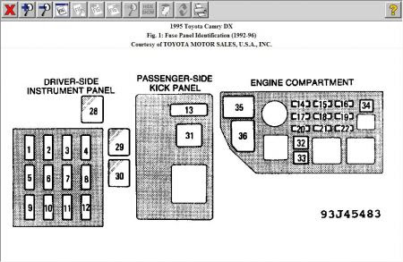 Fuse Box 95 Toyota Camry Wiring Diagram Reader B Reader B Saleebalocchi It