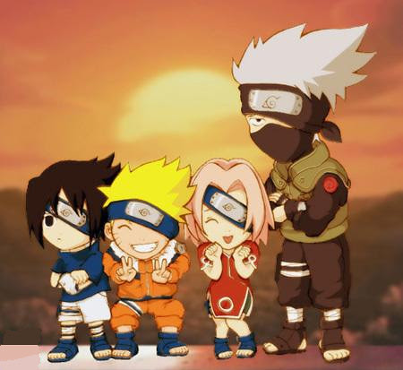 Hollywood Gallery Naruto Shippuden Friends