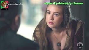 Marina Ruy Barbosa sensual na novela Deus Salve o Rei