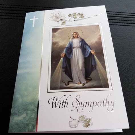 Sympathy Mass Card Pack of 5 (Set 1C)   Missionaries of