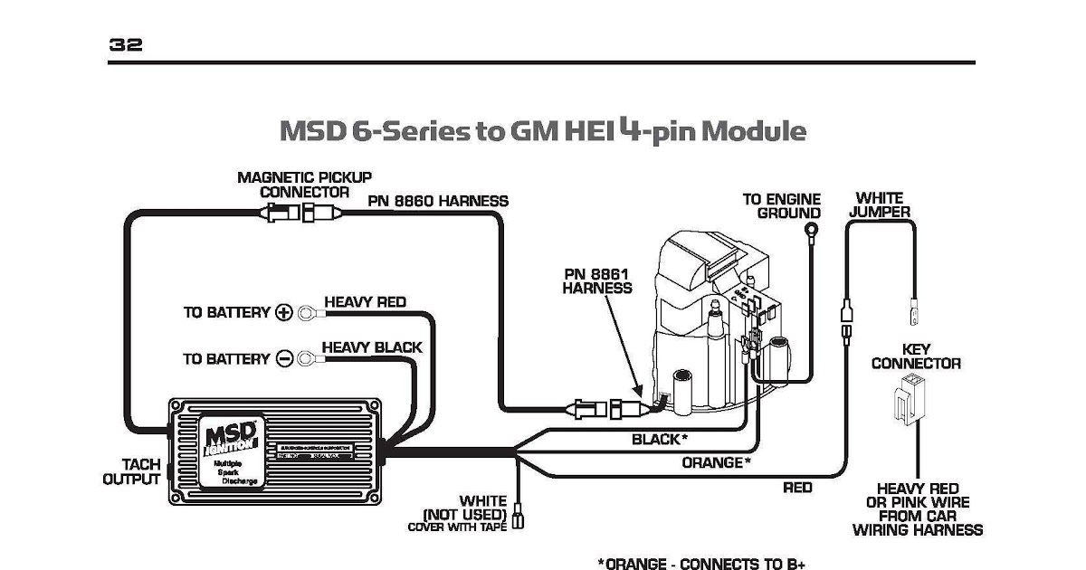 27 Ford Hei Distributor Wiring Diagram