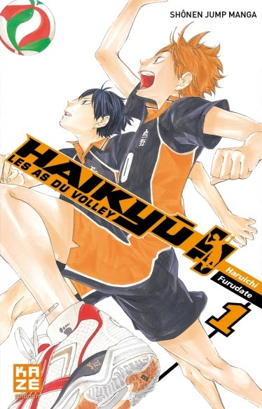 Couverture Haikyû !! : Les as du volley ball, tome 01
