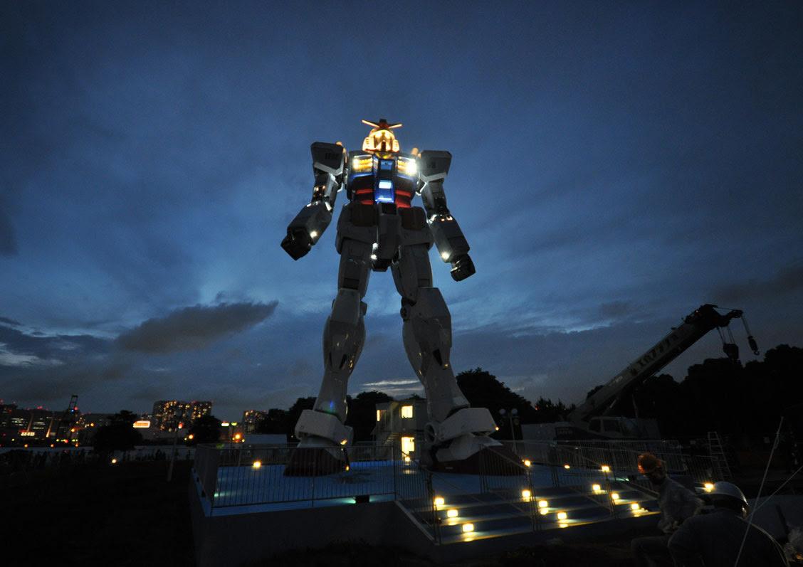 Concept Robots Shizuoka Gundam Rx 78 2 Sculpture