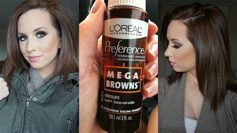 quick chocolate brown hair   youtube