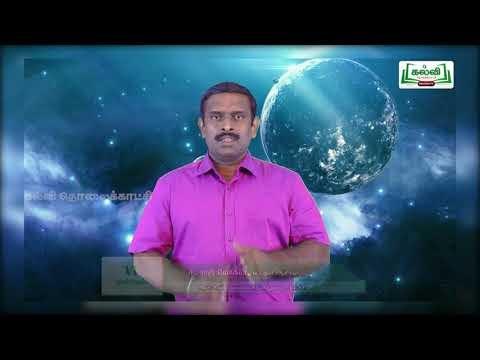 6th Social Science பேரண்டம் மற்றும் சூரியக்குடும்பம் அலகு 2 Kalvi TV