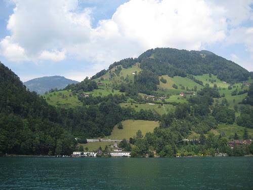 Sailing in Lucerne