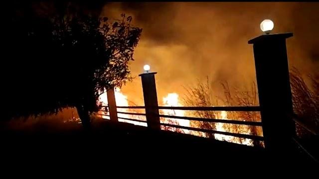Incêndio atinge vegetação do Horto em Juazeiro do Norte