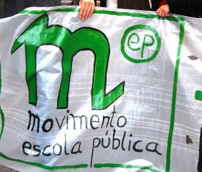 """Movimento Escola Pública diz que o programa do governo para a educação é """"facilitista"""""""
