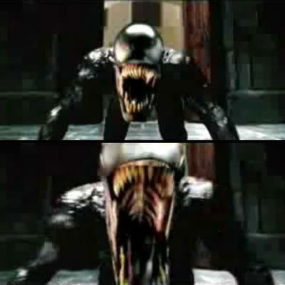 Venom from next year's SPIDER-MAN 3.  Word.
