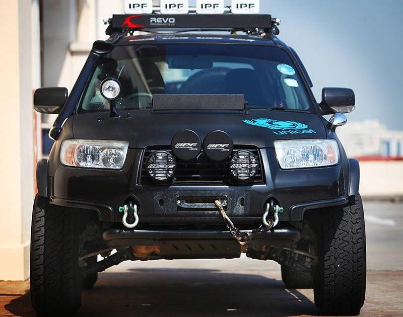 Subaru Forester Off Road Modifications