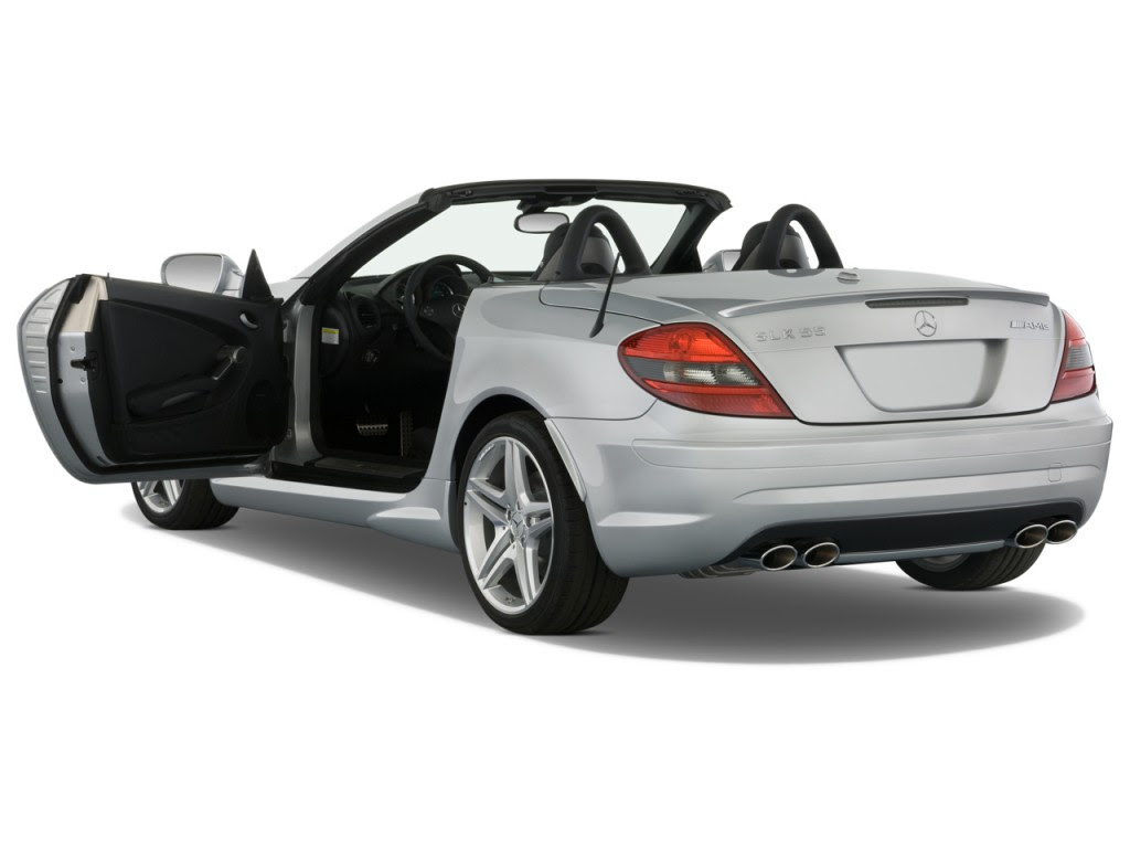 Image: 2010 Mercedes-Benz SLK Class 2-door Roadster 5.5L ...