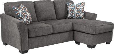 ashley brise queen sleeper sectional chaise sofa
