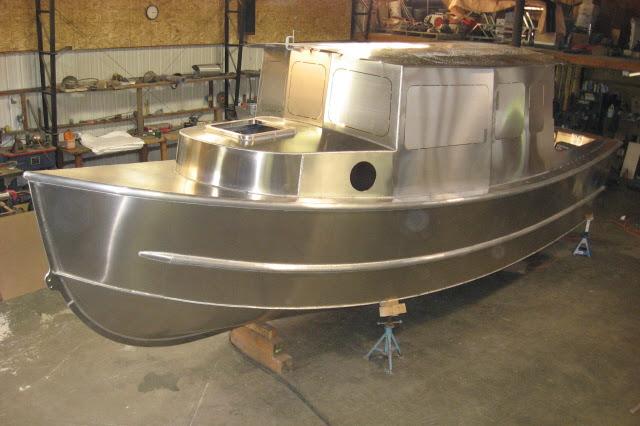 Welded Aluminum Boat Plans Diy Boat Plans Plywood