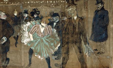 Dance at the Moulin Rouge: La Goulue and Valentin by Henri de Toulouse-Lautrec
