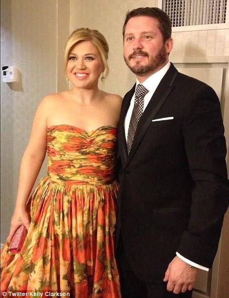 Kelly Clarkson and fiance Brandon