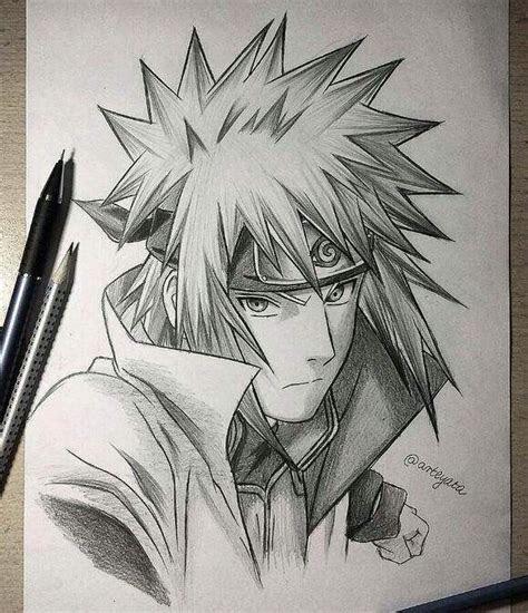 art pencil anime naruto drawings art gallery