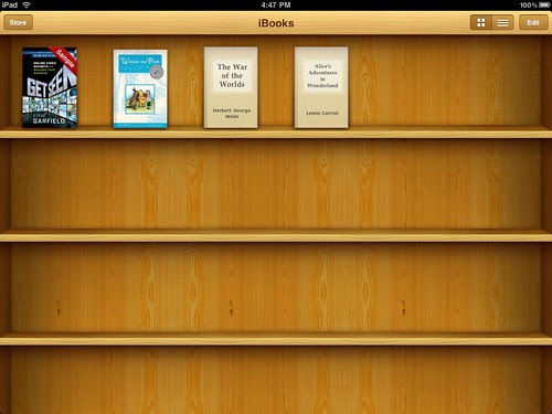 Get Seen iBook Store shelf