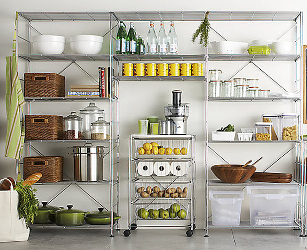 An organized pantry Stylish Food Storage Containers for the Modern Kitchen