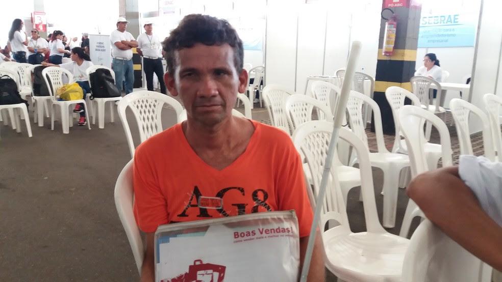 Jaime Gomes diz que iniciativa é um diferencial para a inclusão  (Foto: Jéssica Alves/G1)
