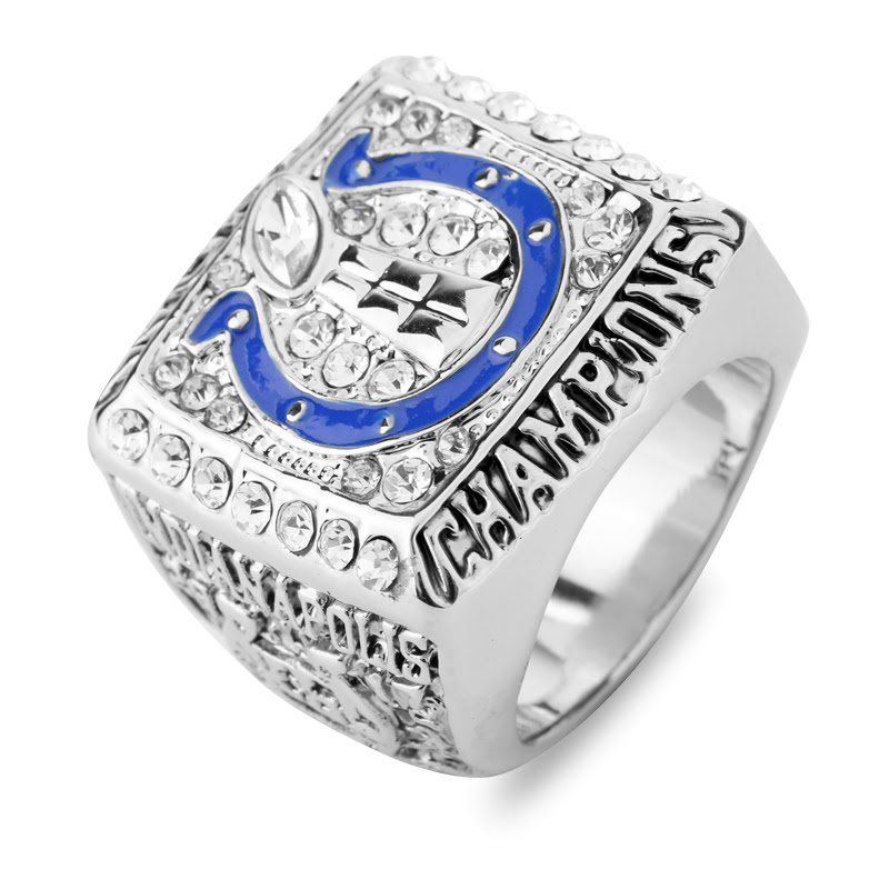 NFL 2006 2007 Indianapolis Colts Super Bowl Championship Rings American Football World Champion