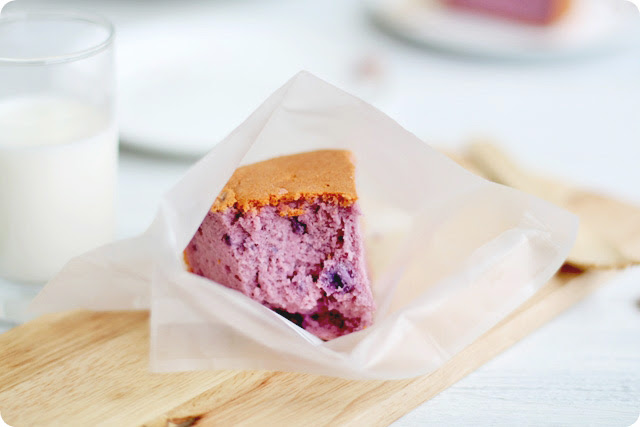Purple Sweet Potato Chiffon