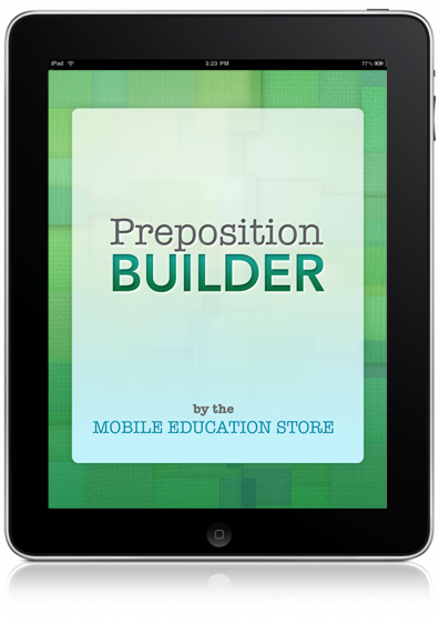 Preposition Builder for iPad