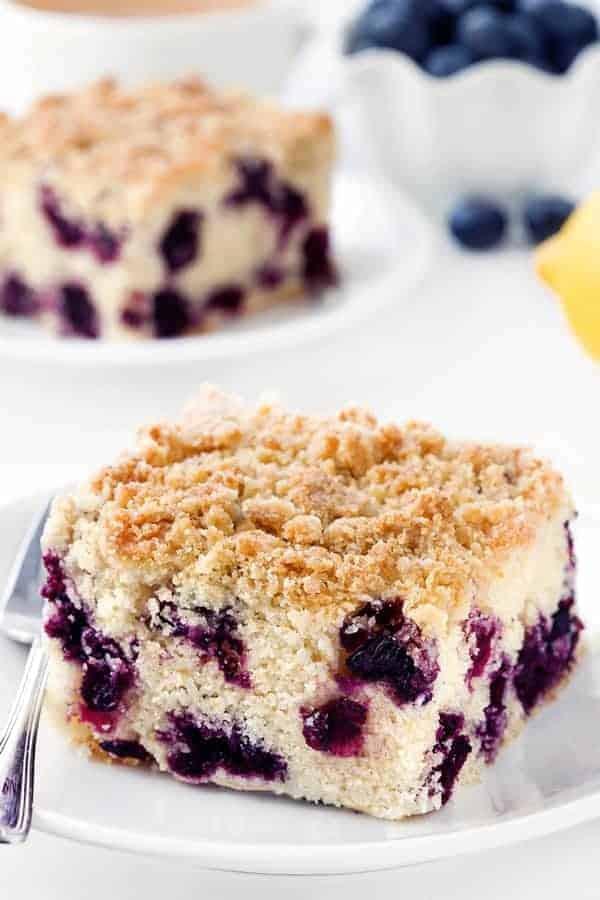 Blueberry Coffee Cake - My Baking Addiction