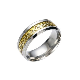 Men's Women's Titanium Celtic Dragon Wedding Ring Band