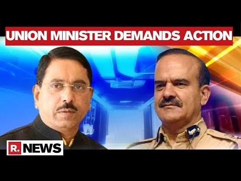 Pralhad Joshi Demands Action Against Param Bir Singh