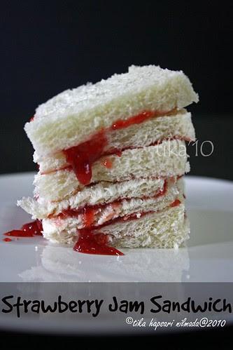 Strawberry Jam Sandwich