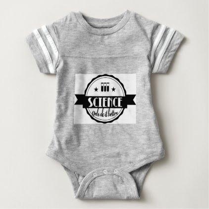 Science Girls do it Better Baby Bodysuit