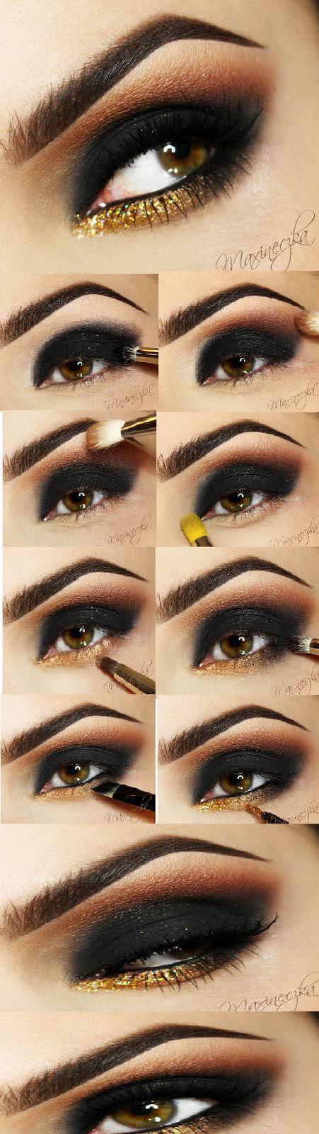 Sexy Smokey Eyes Makeup