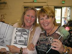 Marsha and Yvonne, Fabulous!