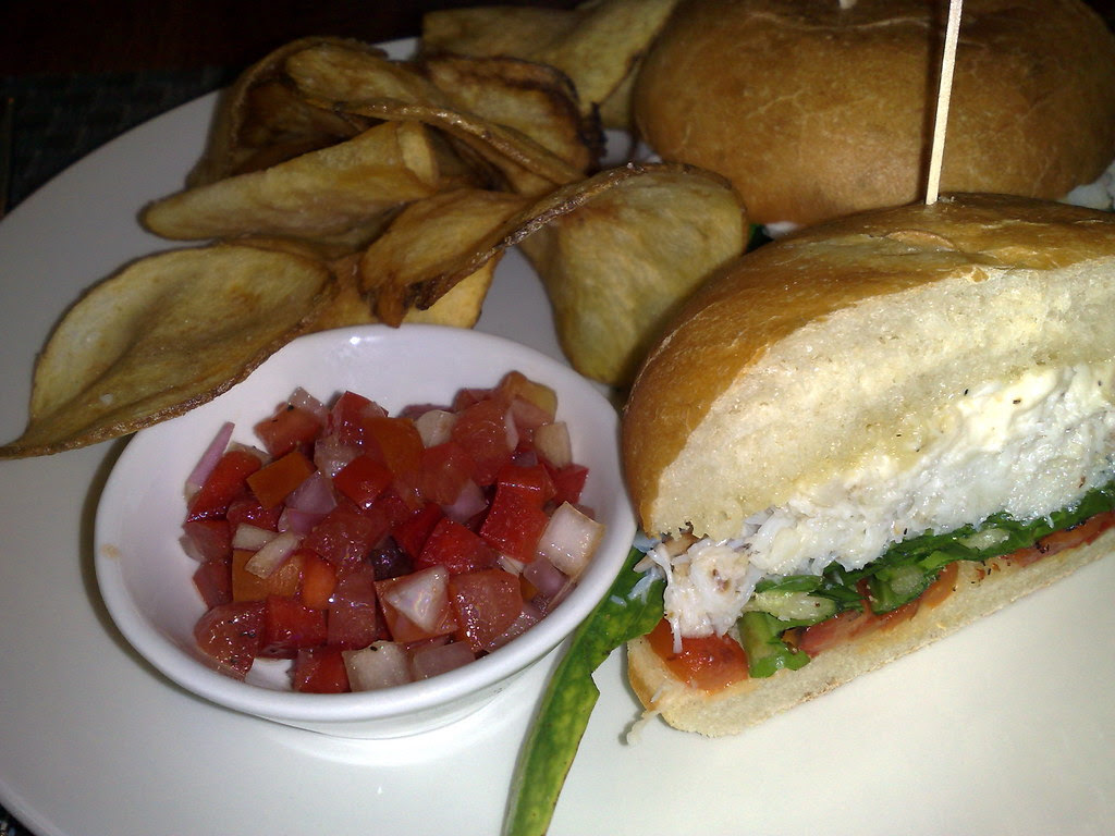 Dungeness Crab Roll