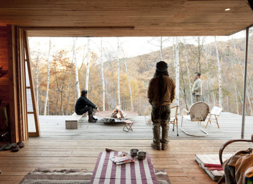 Camping had seemed authentically on-trend, not even a hint of twee—that is, until his ruggedly obscure retreat went mainstream. And so, a standoff ensued with only one winner to emerge: he who was more over it. (Photo: Dean Kaufman; Dwell)