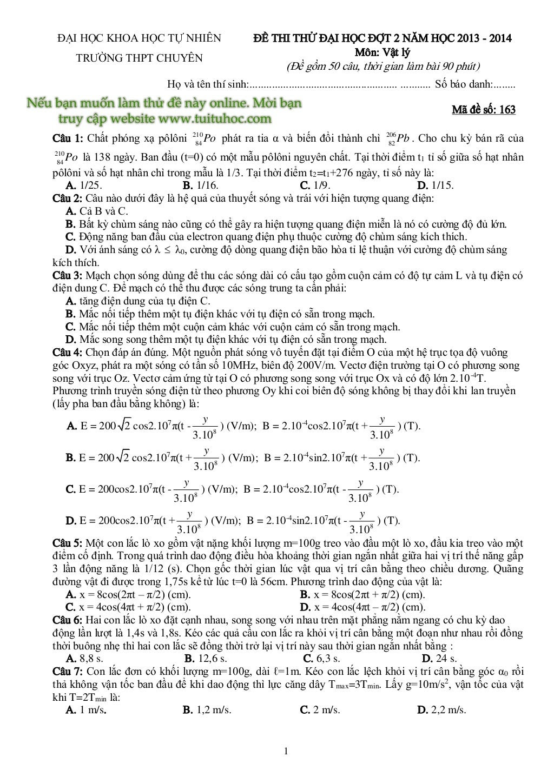 de thi thu vat ly trang 1
