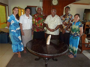 Meeting with Ratu Epenisa Cakobau
