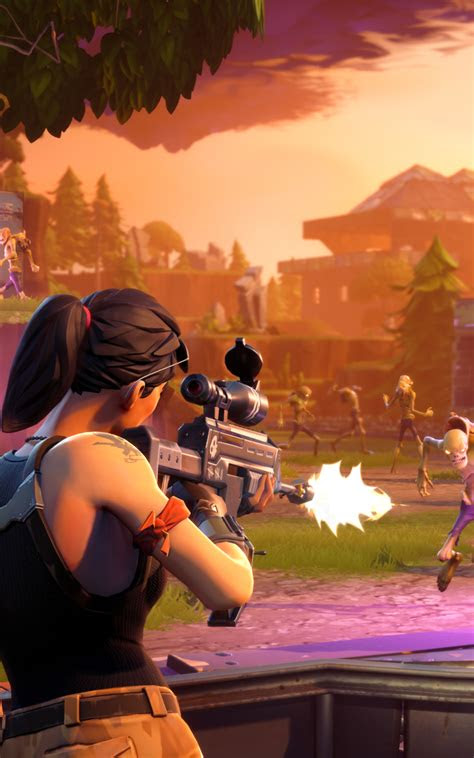 fortnite ps gameplay hd  wallpaper