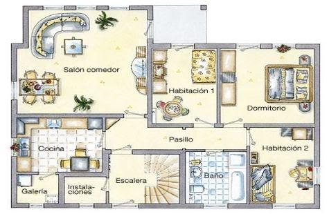 Planos de mansiones modernas planos de casas modernas for Planos de casas de dos plantas gratis