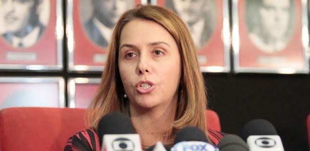 Patrícia Amorim viu um aumento de R$ 52 milhões da dívida no período de um ano