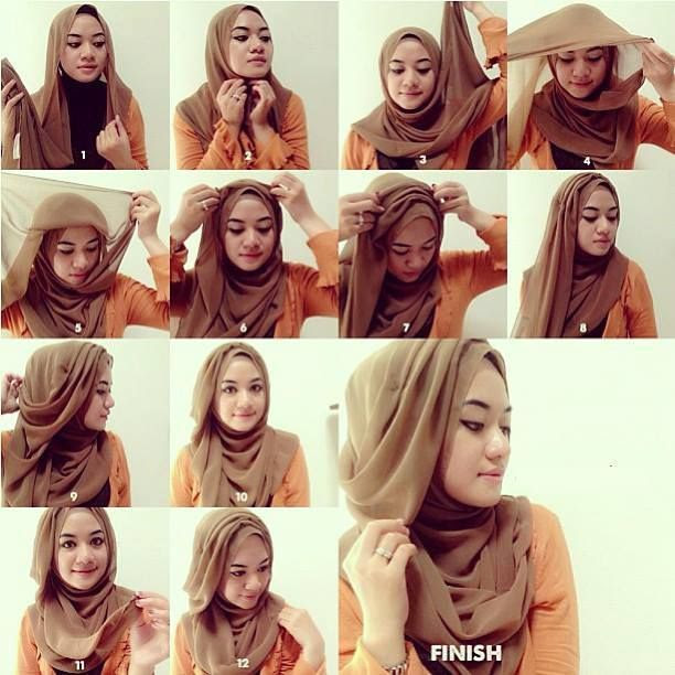 Really Simple Hijab tutorial