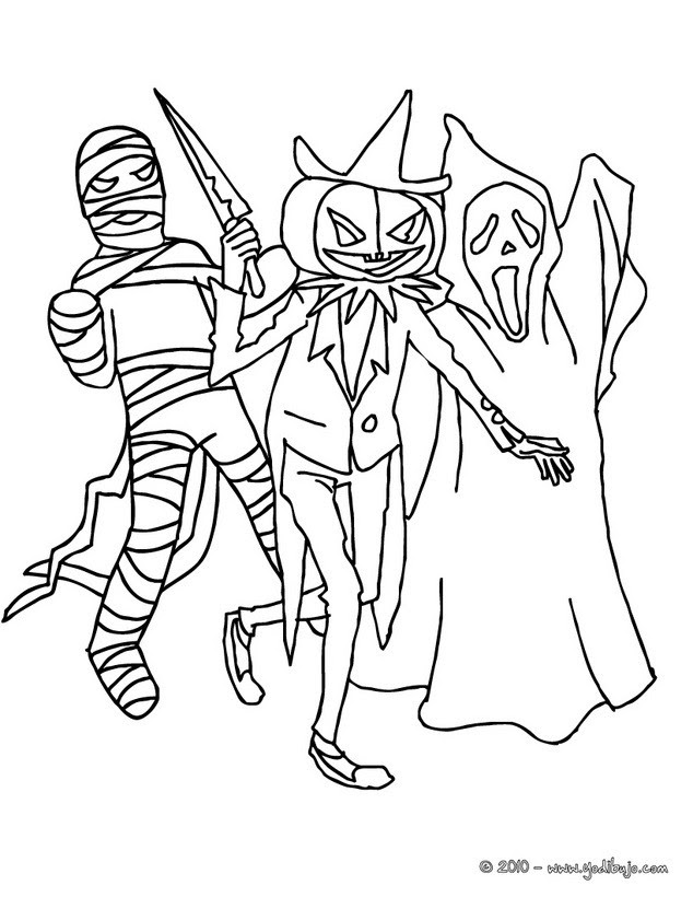 Dibujos Para Colorear Vampiro De Halloween Eshellokidscom