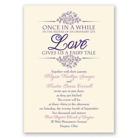 wedding invite wording card design ideas