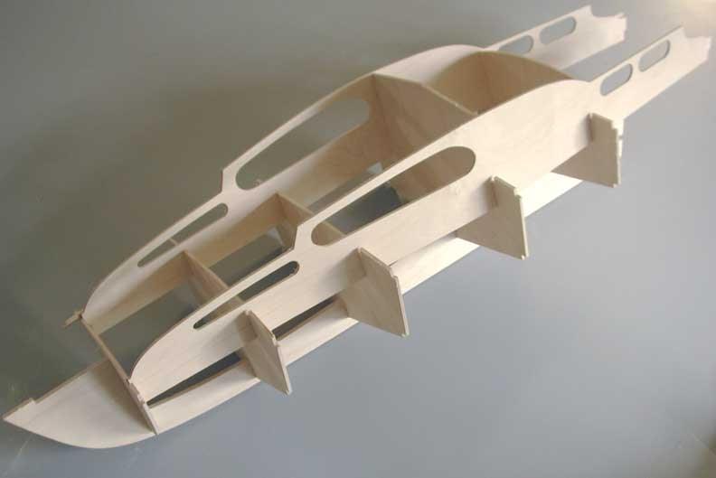 Awo2 Aerokits Model Boat Kits