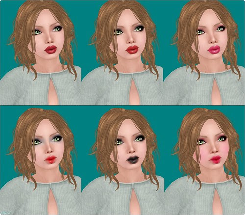 Style - Ispachi: Audrey, Faces 1