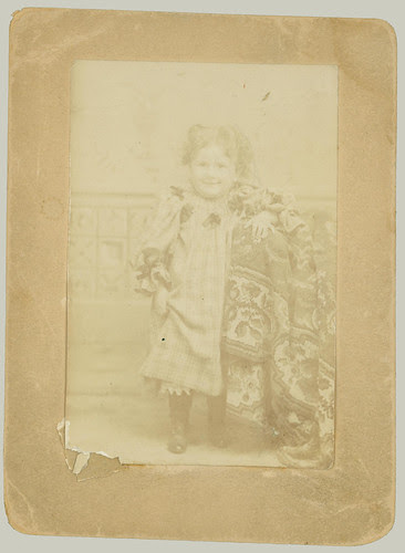 Child in Studio Portrait